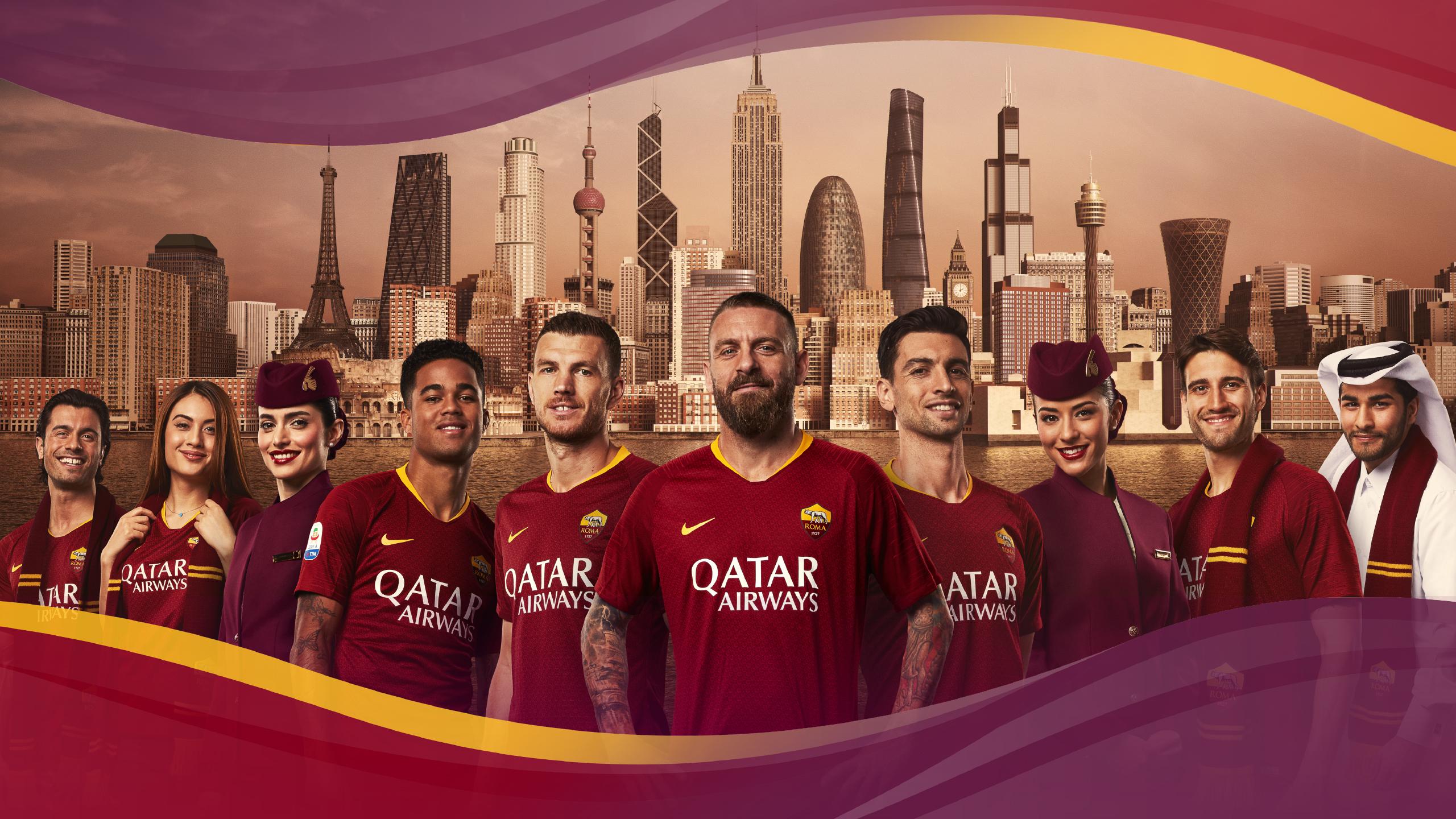 Qatar Airways <br> All Together Roma